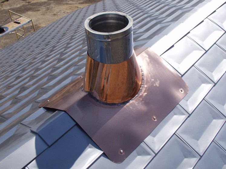 Macky S New House 183 Roof Amp Chimney