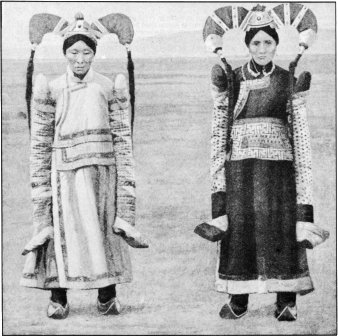 Quaint Freaks of Fashion that Please Mongolian Wives