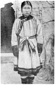 Mongol Maiden from Sakhalien Island