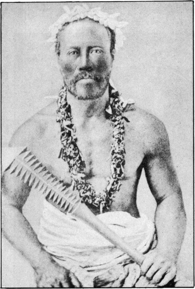 Formidable Weapon of Samoan Warrior