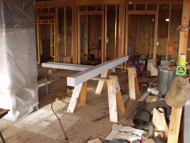 Mackys new house · carport