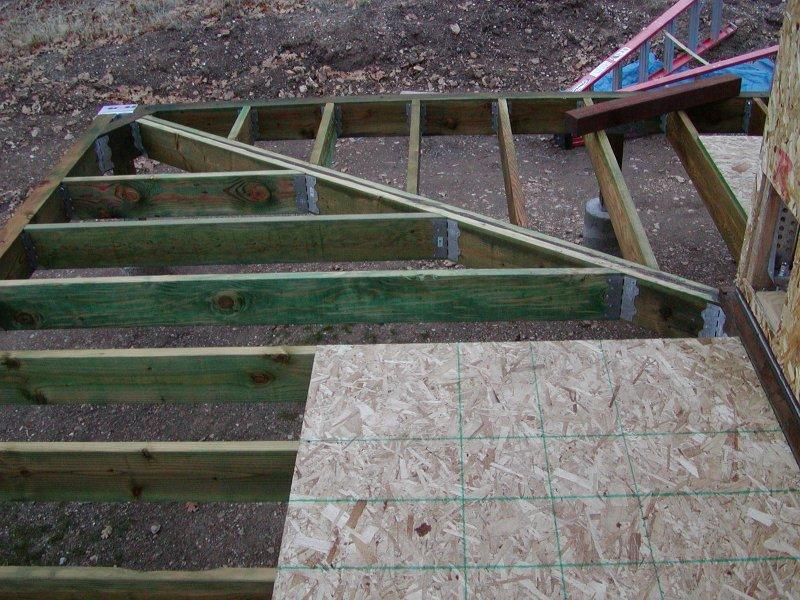 Macky\'s New House · Deck