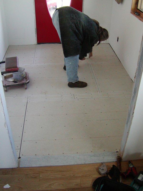 Macky's New House · Mudroom Floor