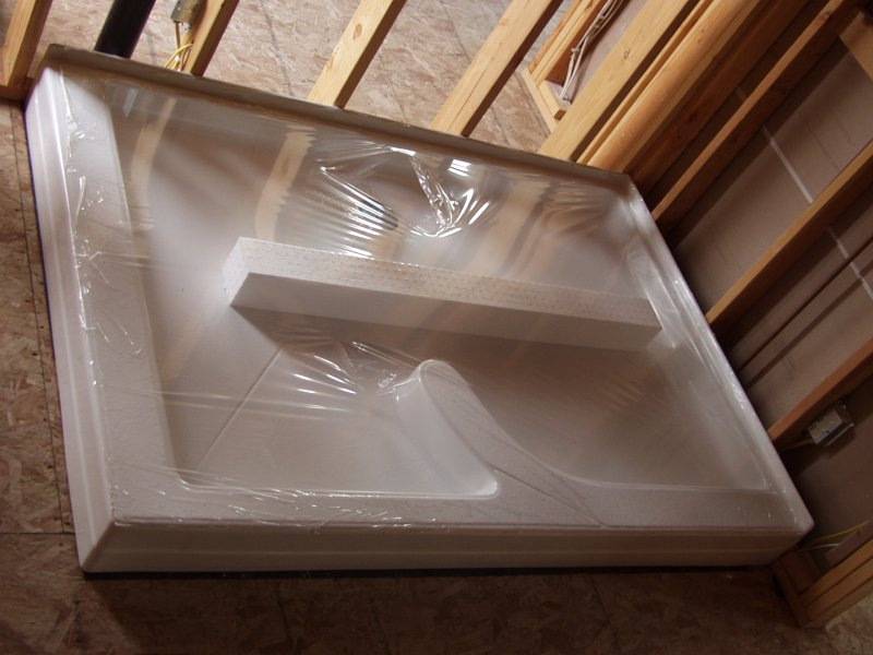 ... Shower Pan Bedded ...
