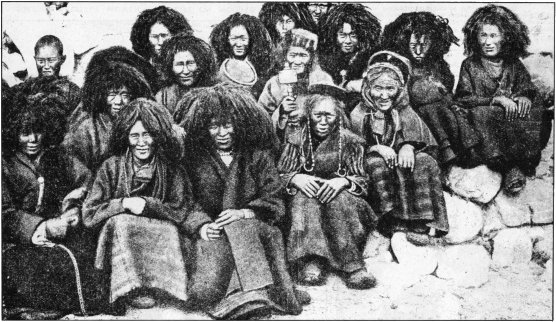 Sisters of a Remote Tibetan Nunnery in Wigs, Beads and Bracelets